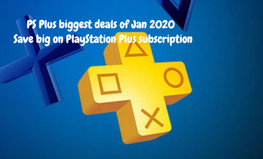 PS Plus biggest deals of Jan 2020